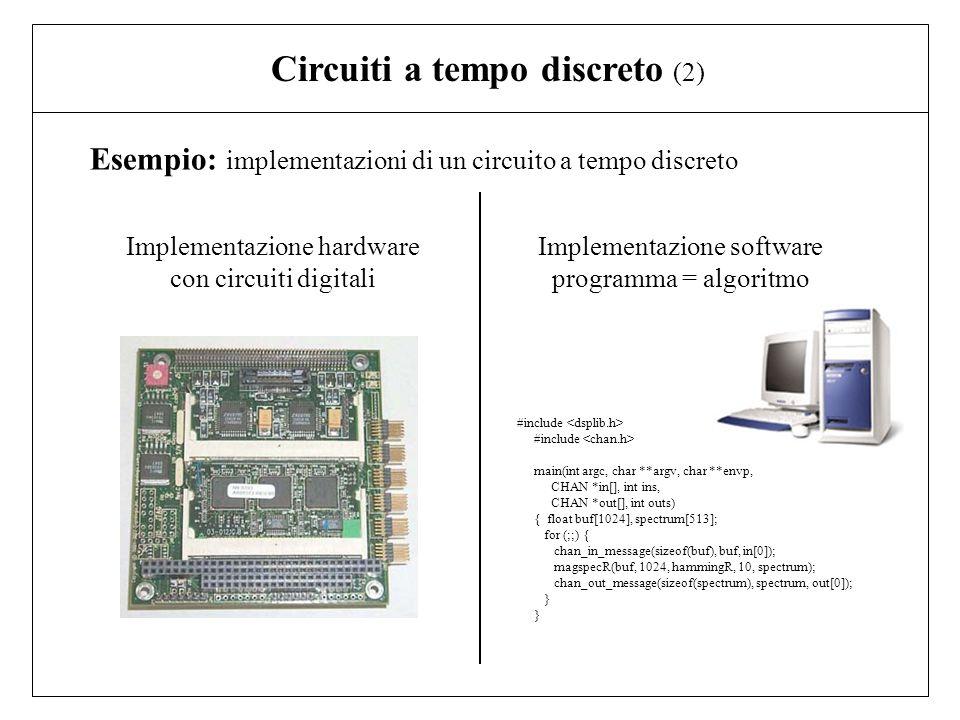 Circuiti a tempo discreto (2)