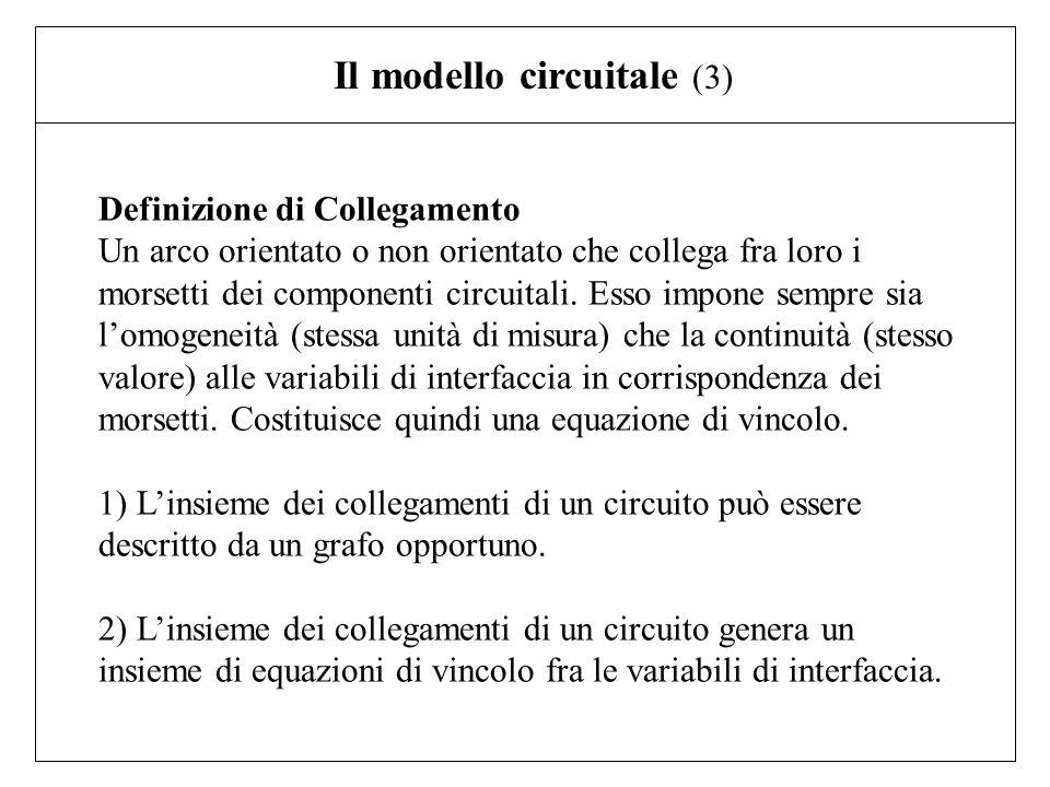 Il modello circuitale (3)