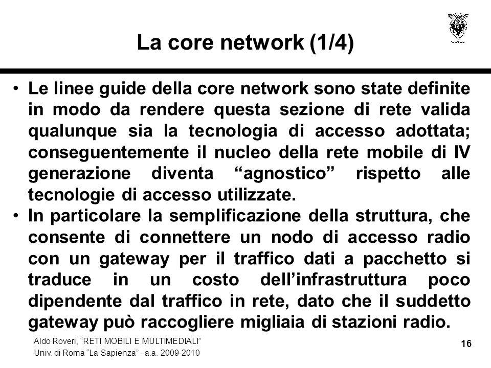 La core network (1/4)