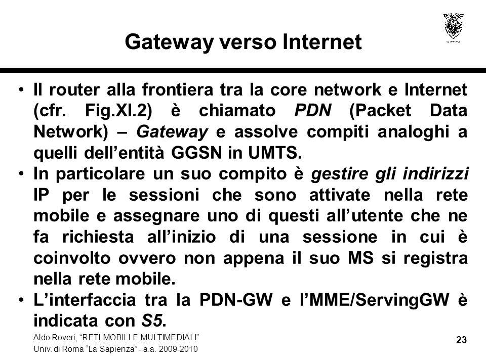 Gateway verso Internet