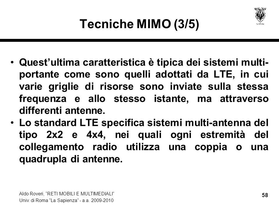 Tecniche MIMO (3/5)