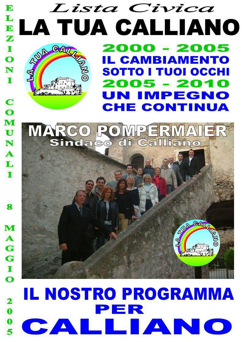 ELEZIONI COMUNALI 8 MAGGIO 2005