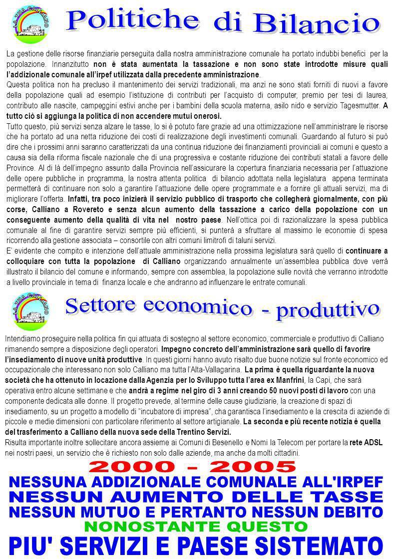 Settore economico - produttivo