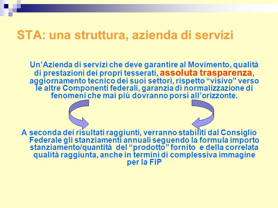 STA: una struttura, azienda di servizi