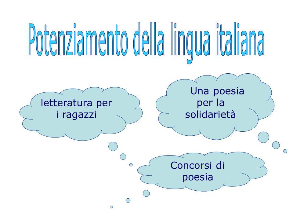 Potenziamento della lingua italiana