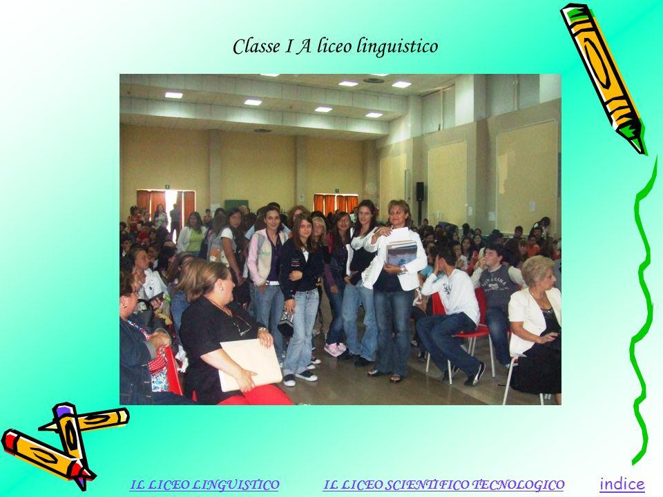 Classe I A liceo linguistico