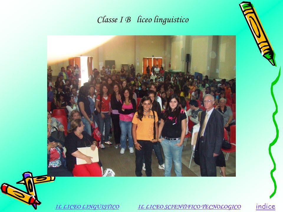 Classe I B liceo linguistico