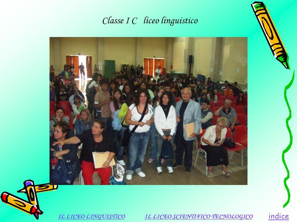 Classe I C liceo linguistico