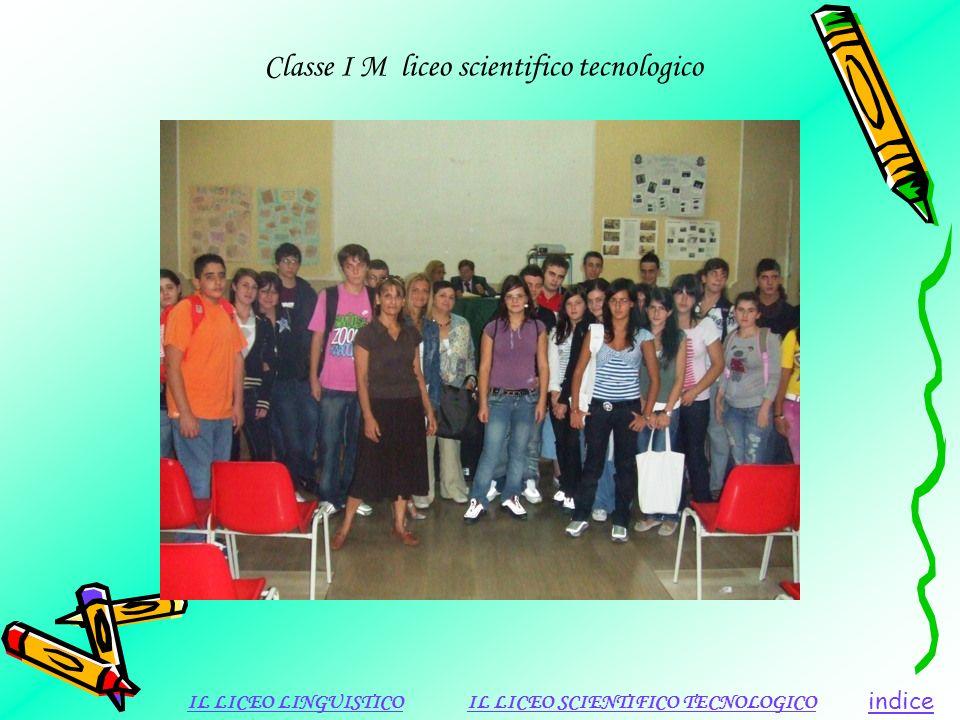 Classe I M liceo scientifico tecnologico