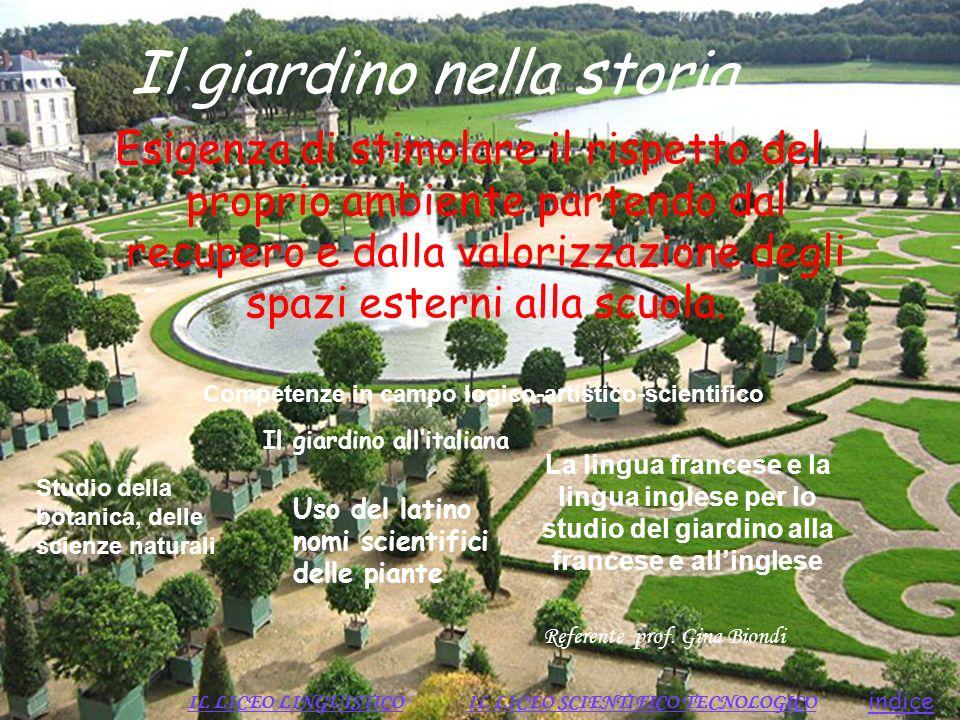 Il giardino nella storia