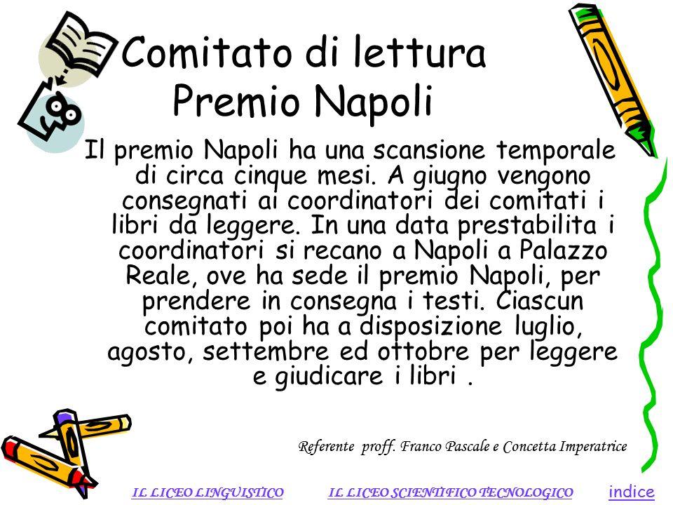 Comitato di lettura Premio Napoli