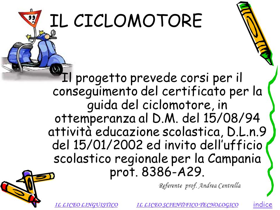 IL CICLOMOTORE