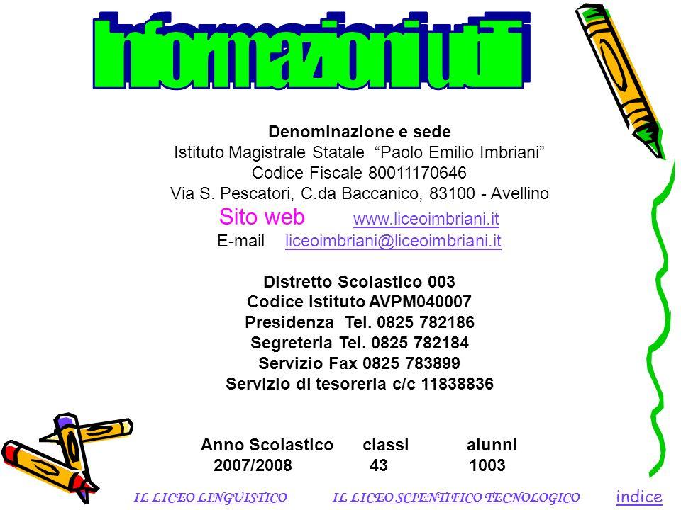 Servizio di tesoreria c/c 11838836 Anno Scolastico classi alunni