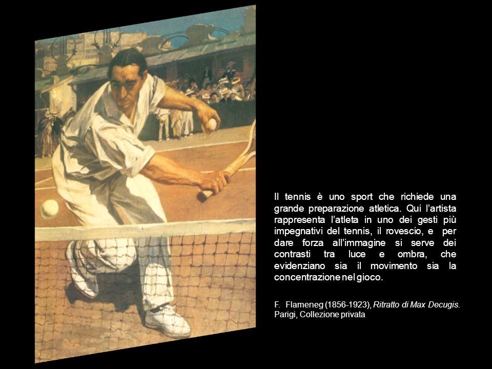 Il tennis è uno sport che richiede una grande preparazione atletica