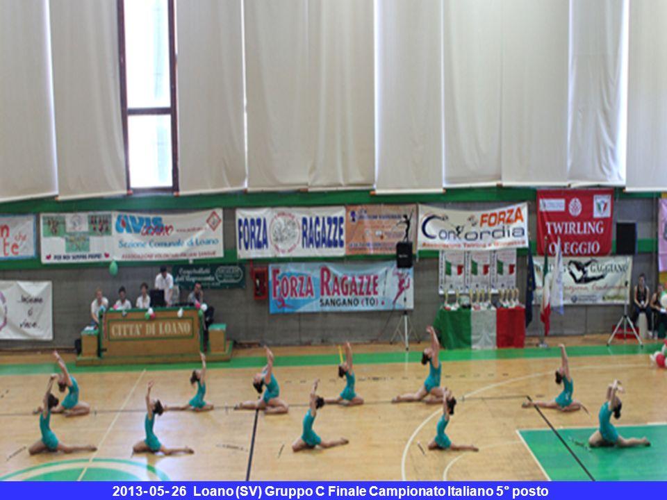 2013- 05- 26 Loano (SV) Gruppo C Finale Campionato Italiano 5° posto