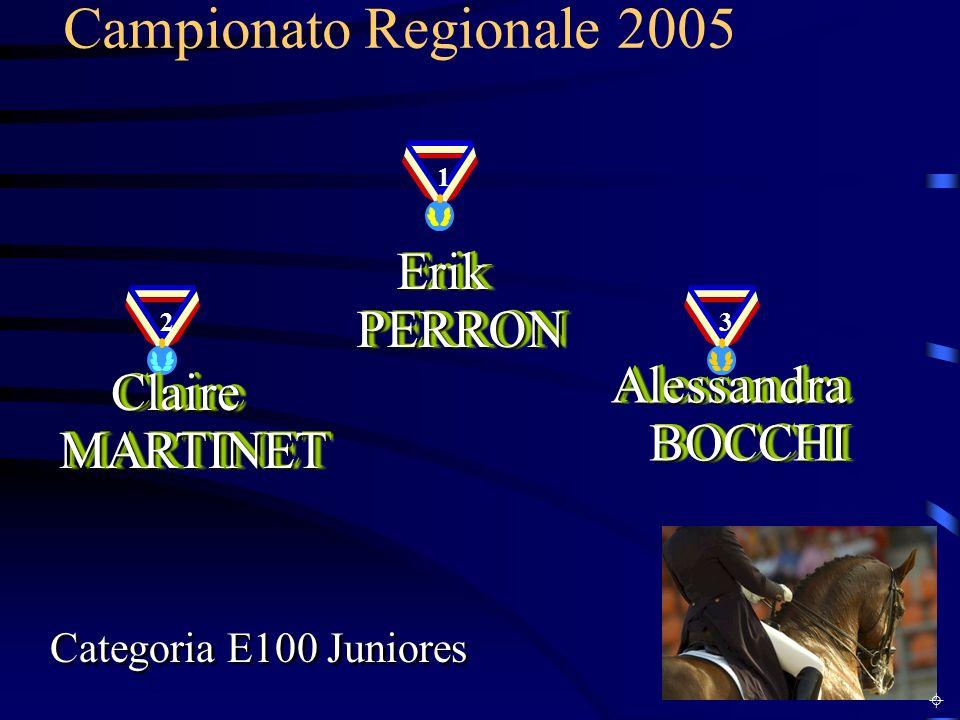 Campionato Regionale 2005 Erik PERRON Alessandra BOCCHI