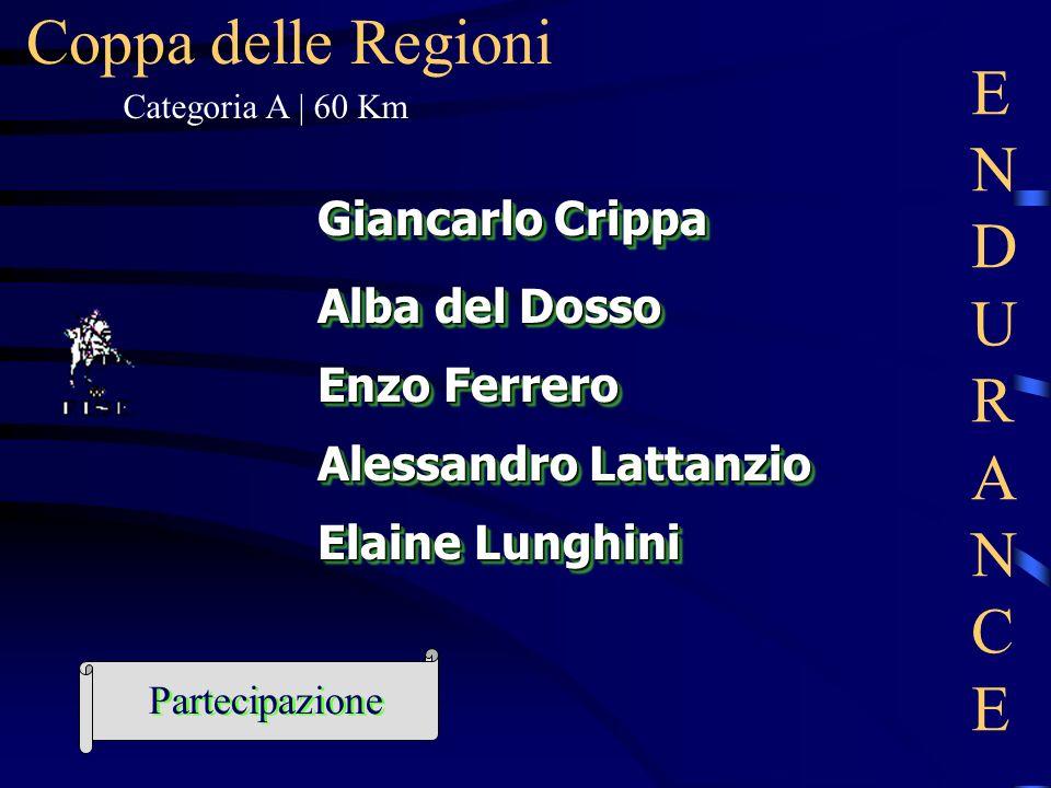 Coppa delle Regioni ENDURANCE Giancarlo Crippa Alba del Dosso