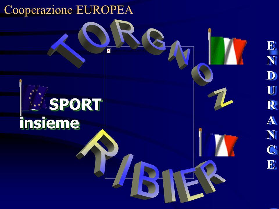 Cooperazione EUROPEA ENDURANCE TORGNON RIBIER LO SPORT insieme