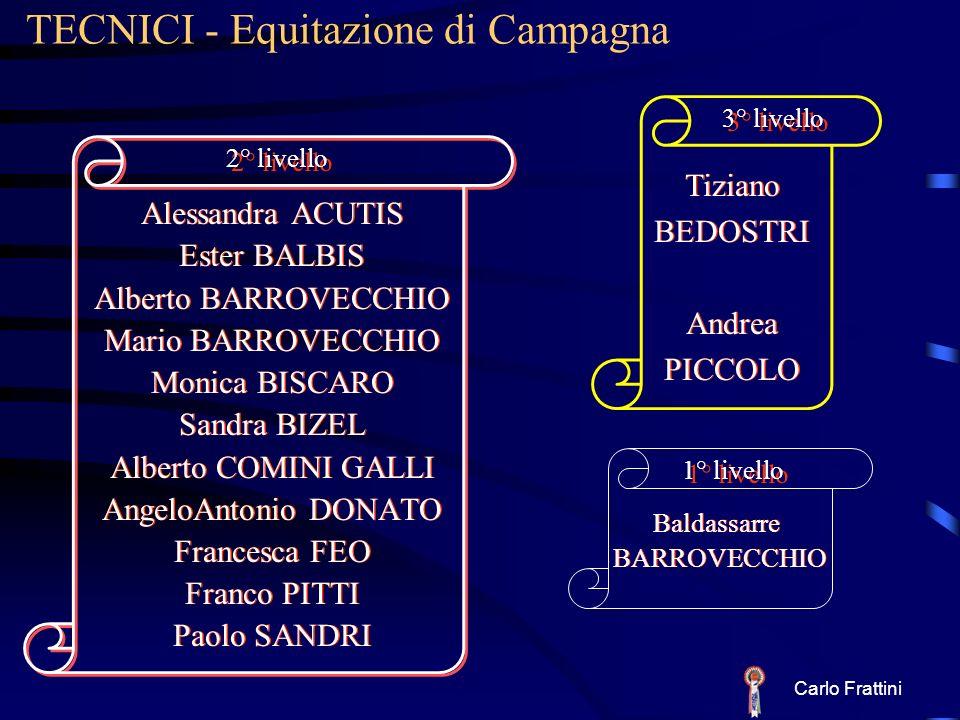 TECNICI - Equitazione di Campagna