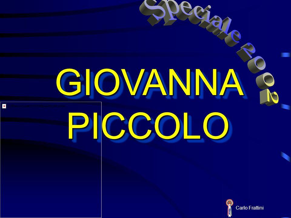 Speciale 2002 GIOVANNA PICCOLO Carlo Frattini