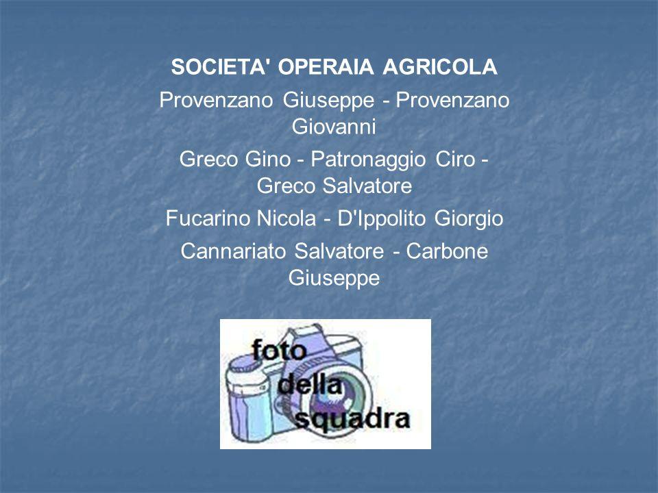 SOCIETA OPERAIA AGRICOLA