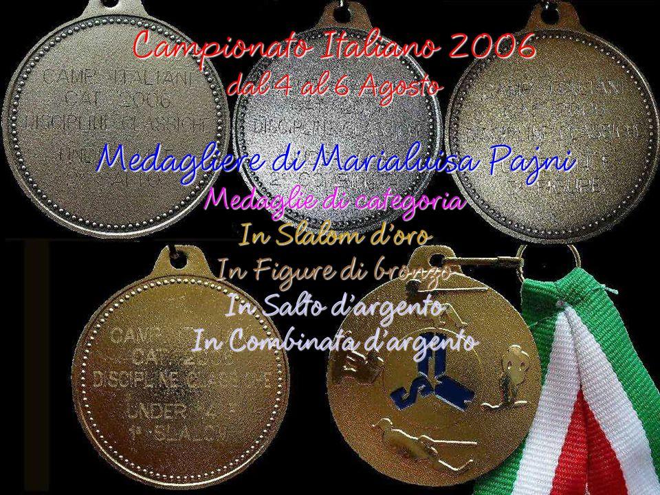 Medagliere di Marialuisa Pajni