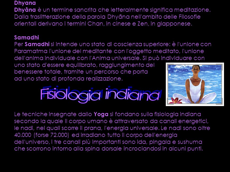Fisiologia indiana Dhyana