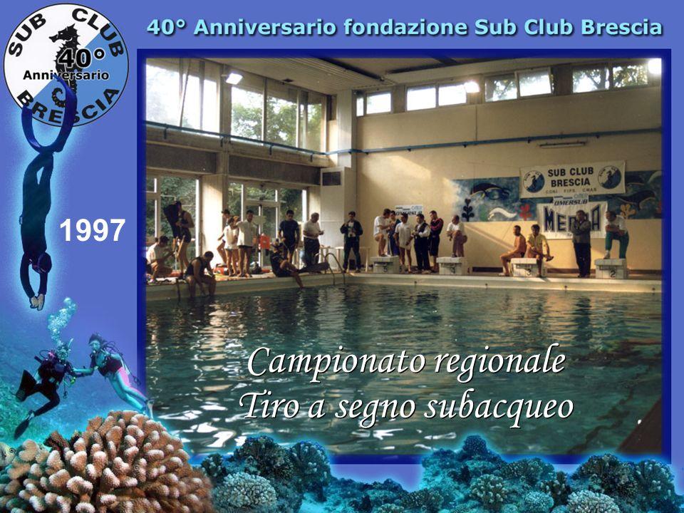 1997 Campionato regionale Tiro a segno subacqueo
