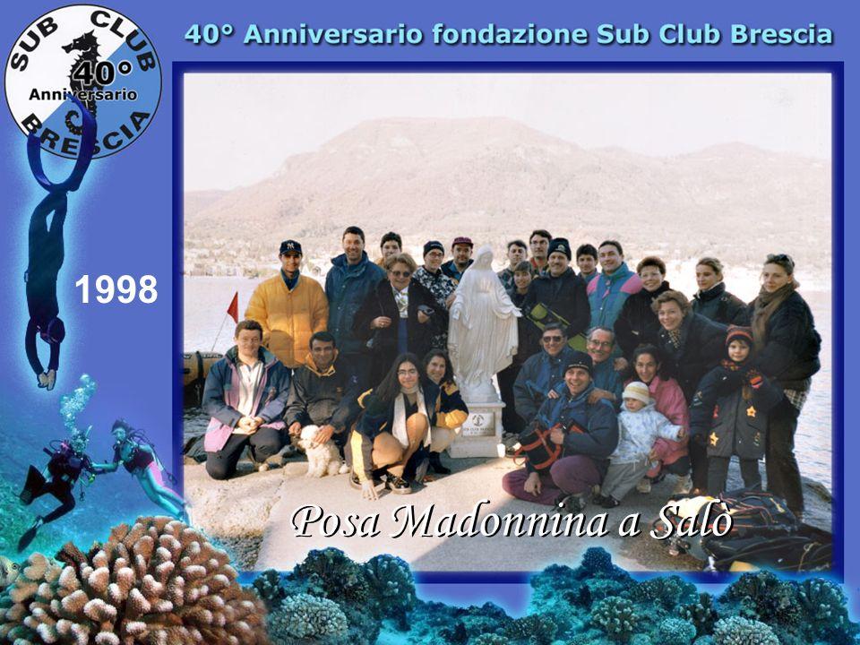 1998 Posa Madonnina a Salò