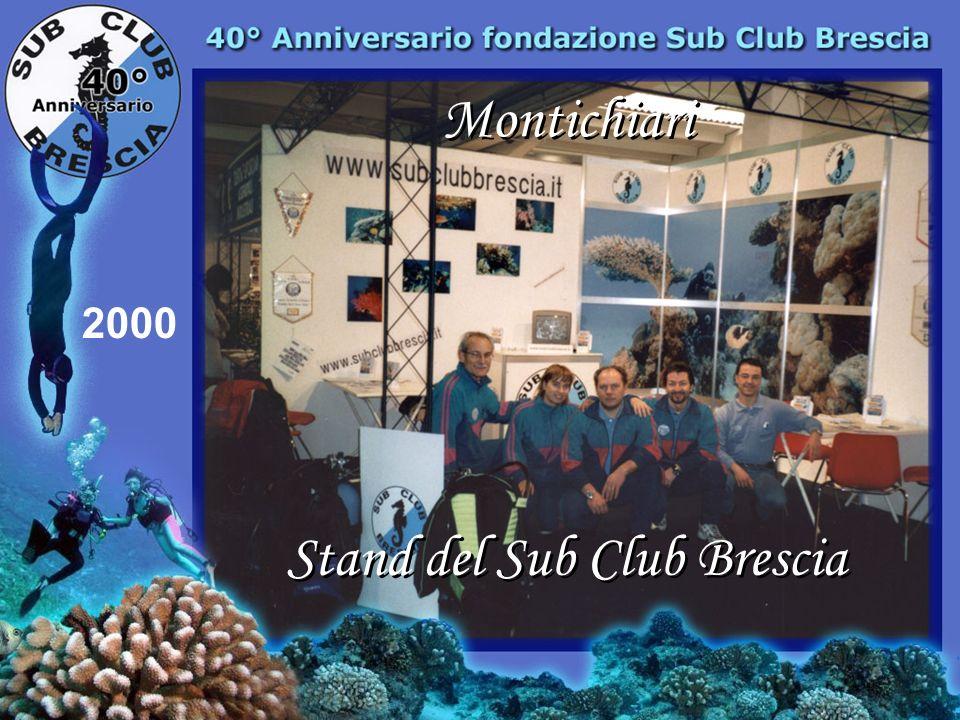 Stand del Sub Club Brescia