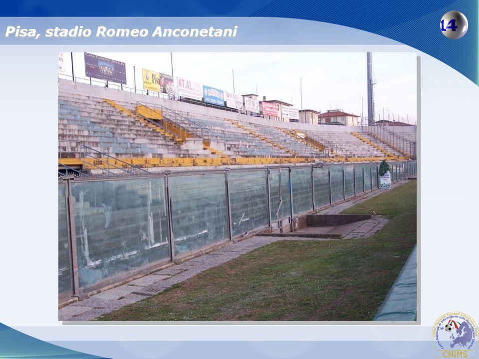 Pisa, stadio Romeo Anconetani
