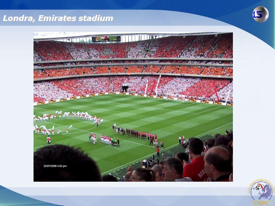 Londra, Emirates stadium