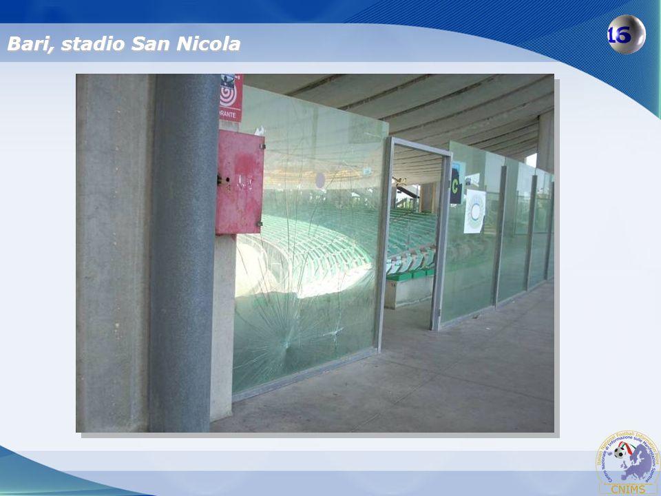 Bari, stadio San Nicola