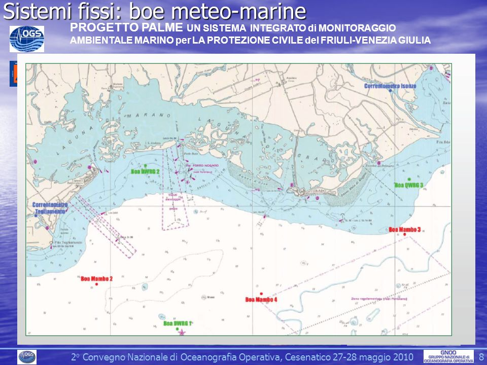 Sistemi fissi: boe meteo-marine
