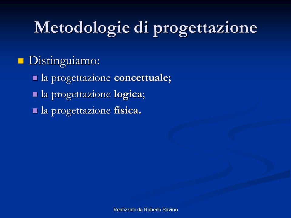 Metodologie di progettazione
