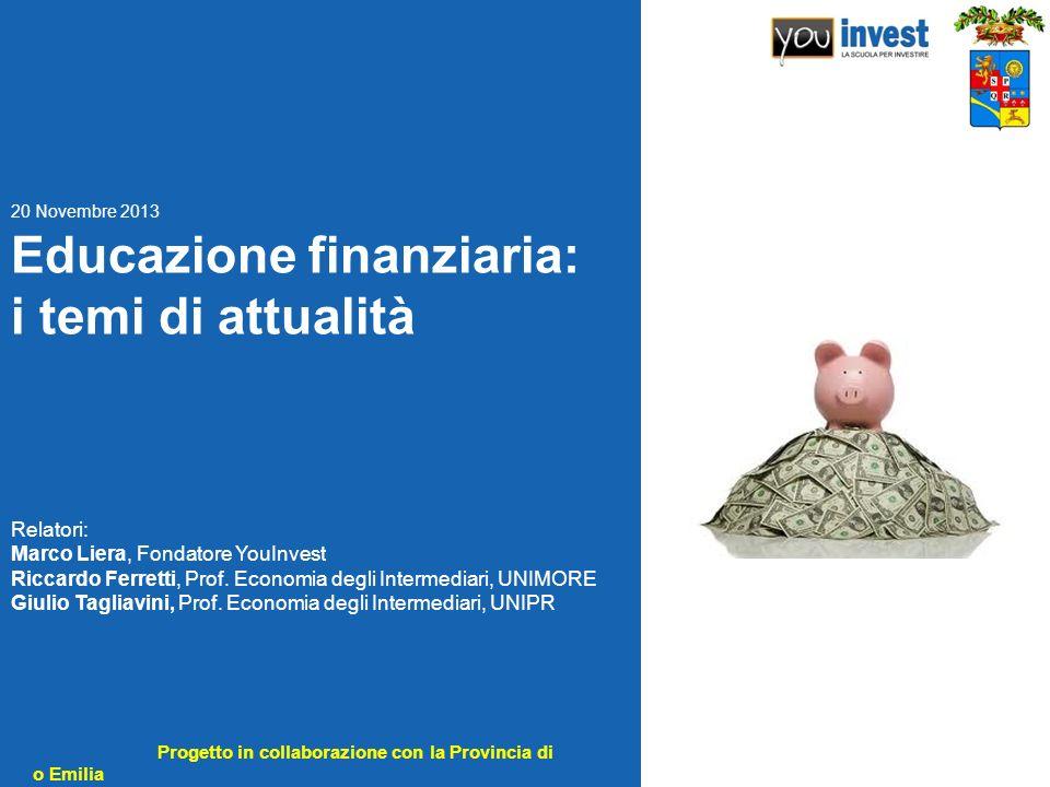 Educazione finanziaria: i temi di attualità