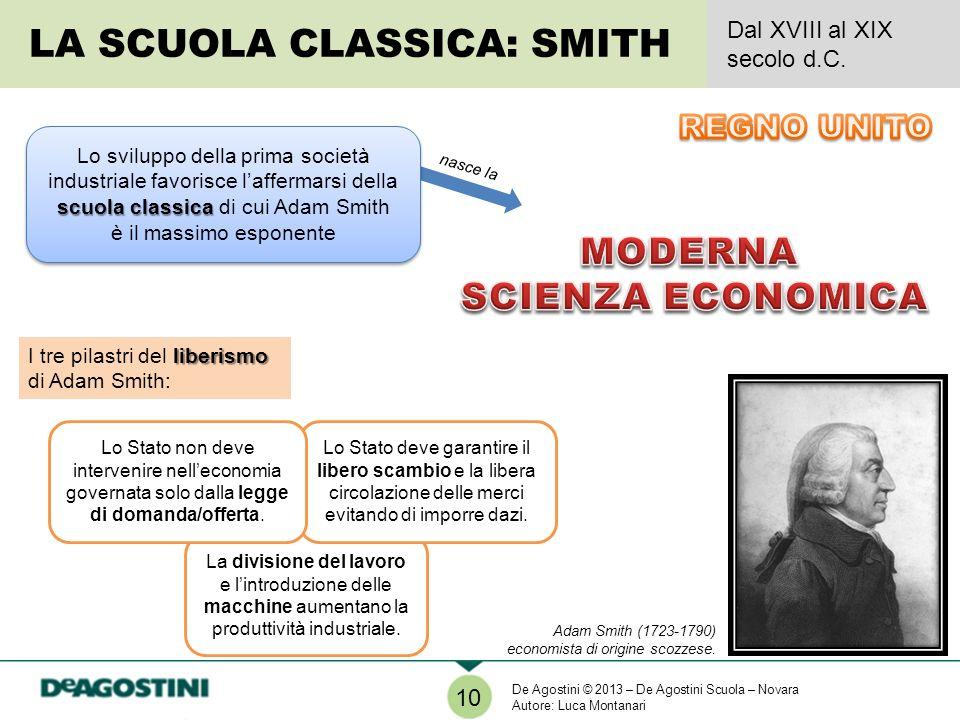 LA SCUOLA CLASSICA: SMITH