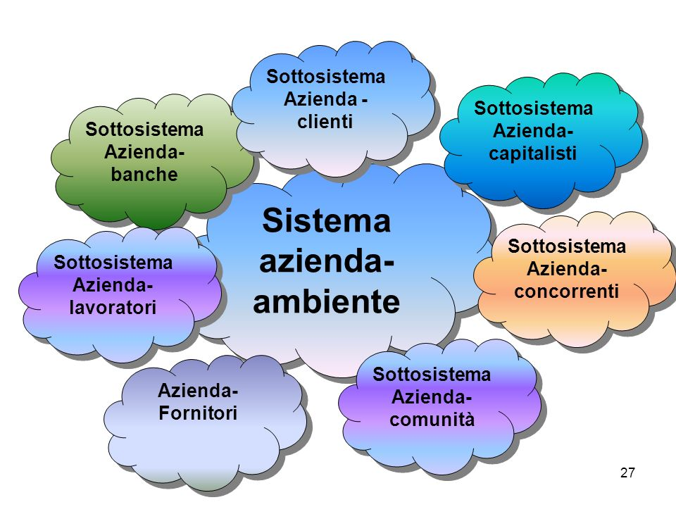 Sistema azienda-ambiente