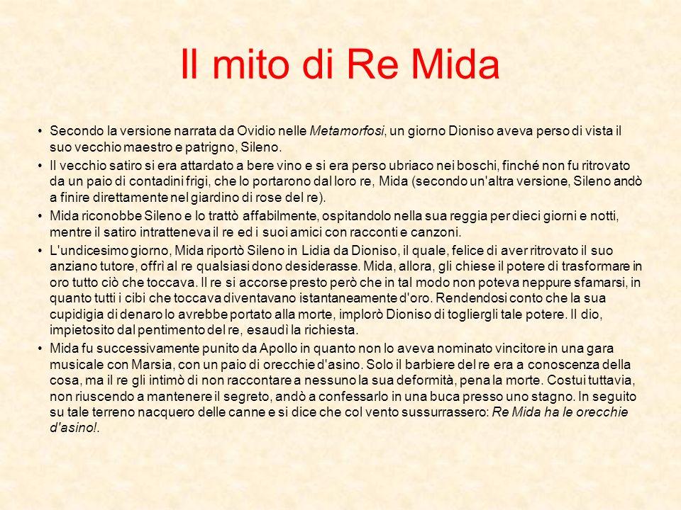 Il mito di Re Mida