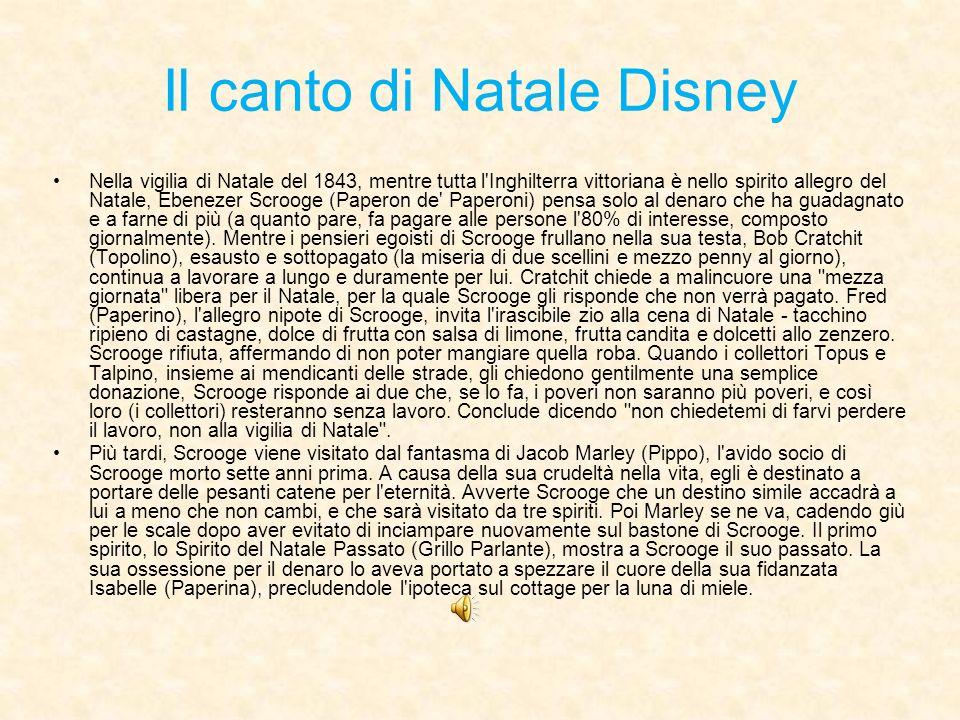 Il canto di Natale Disney