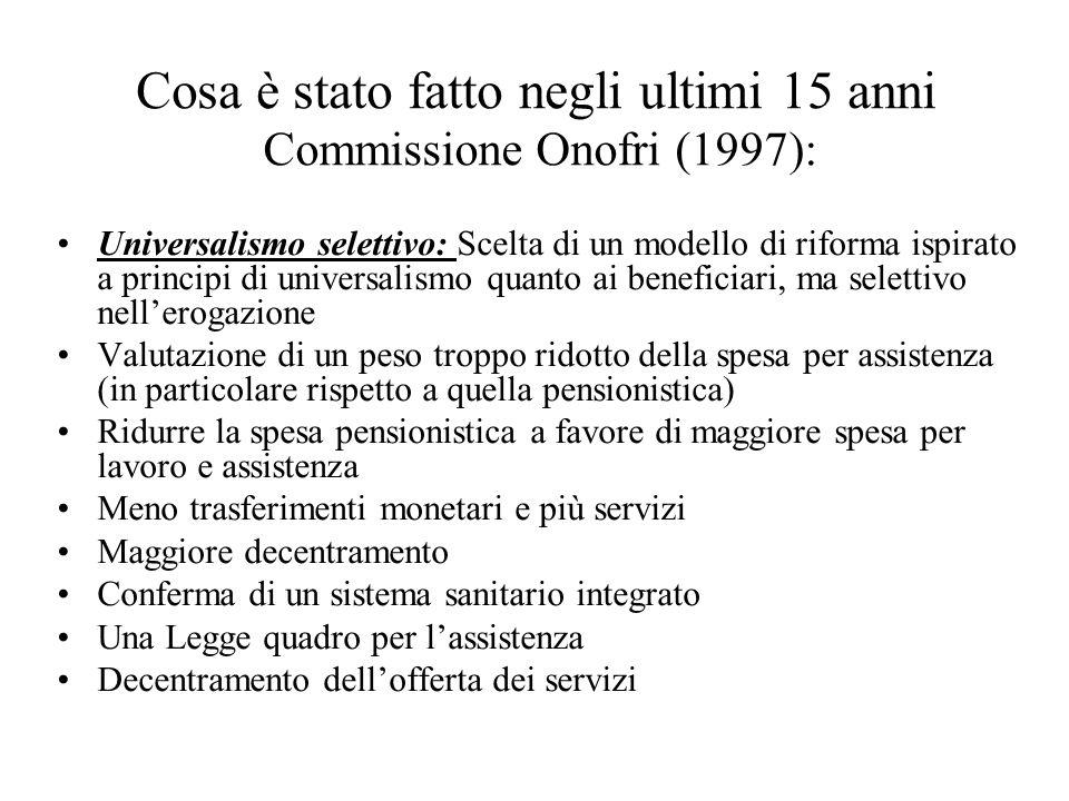 Commissione Onofri (1997):