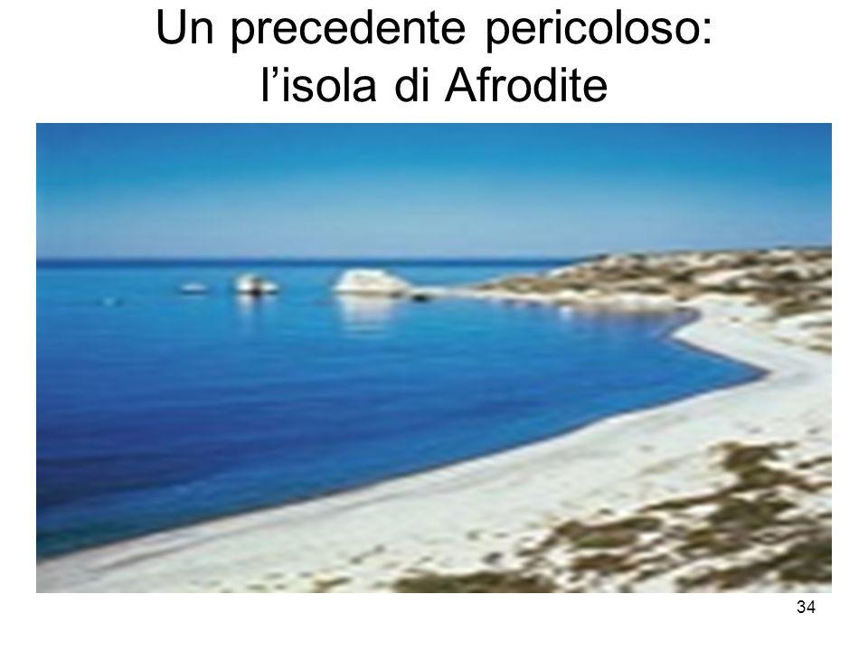 Un precedente pericoloso: l'isola di Afrodite