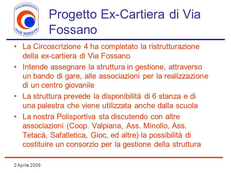 Progetto Ex-Cartiera di Via Fossano
