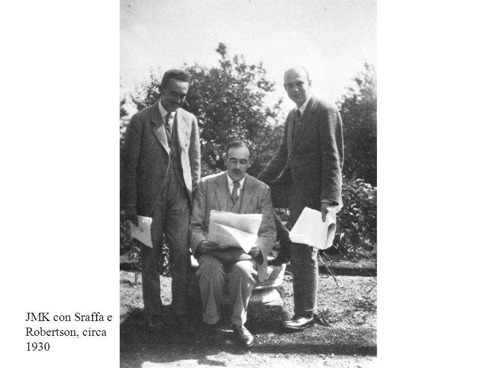 JMK con Sraffa e Robertson, circa 1930