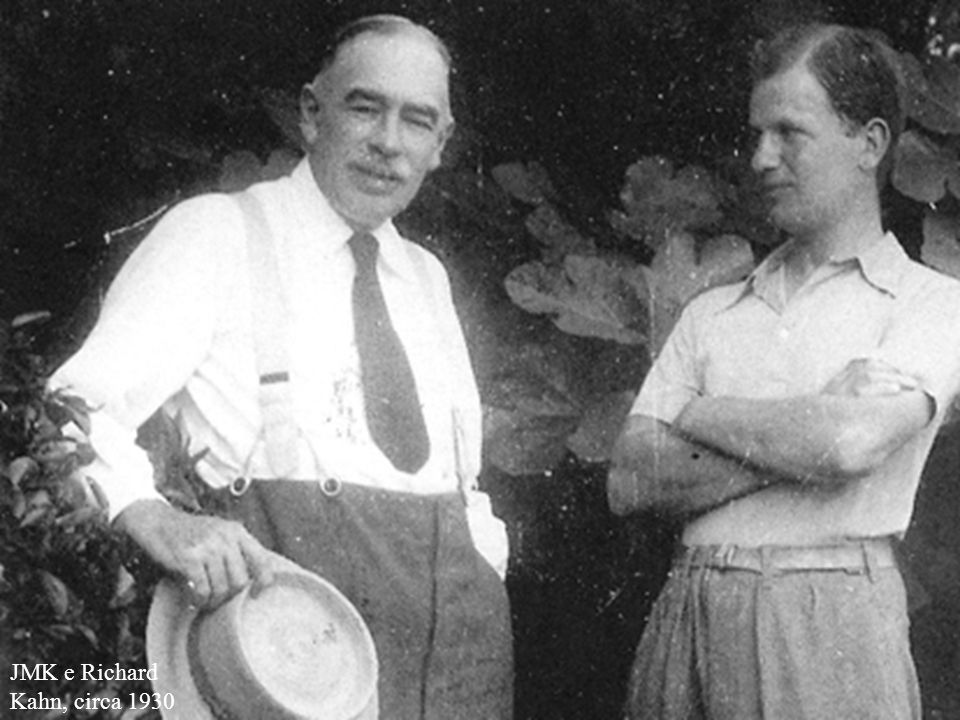 JMK e Richard Kahn, circa 1930