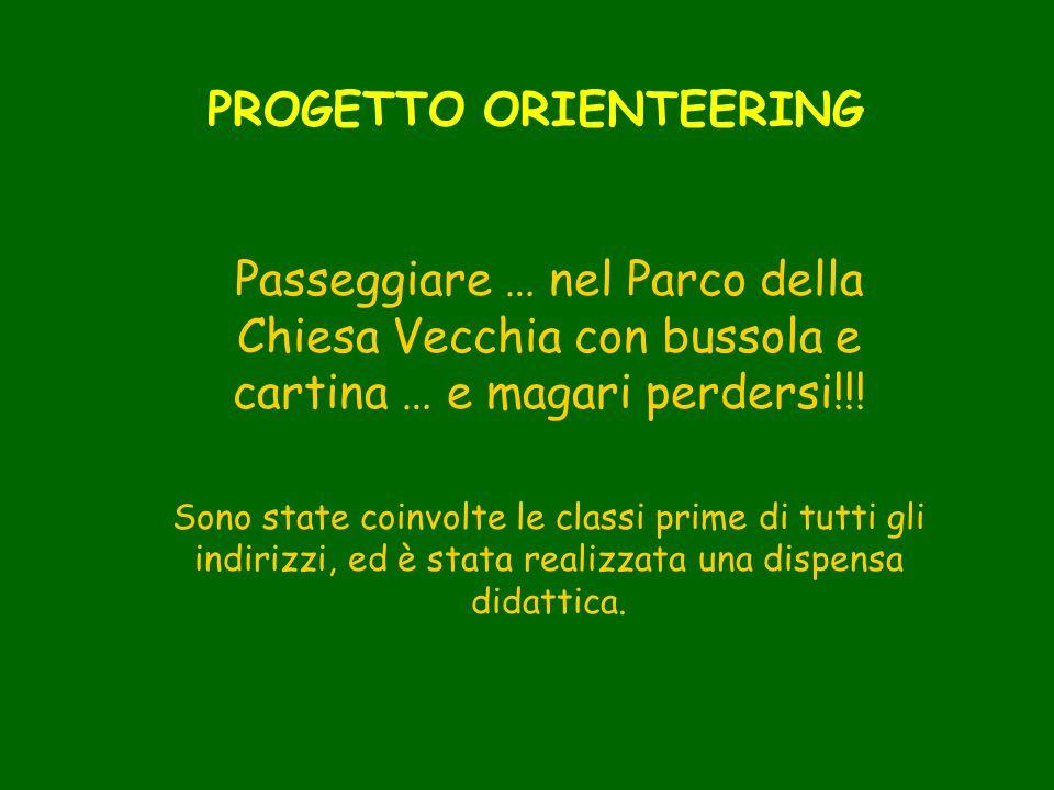 PROGETTO ORIENTEERING