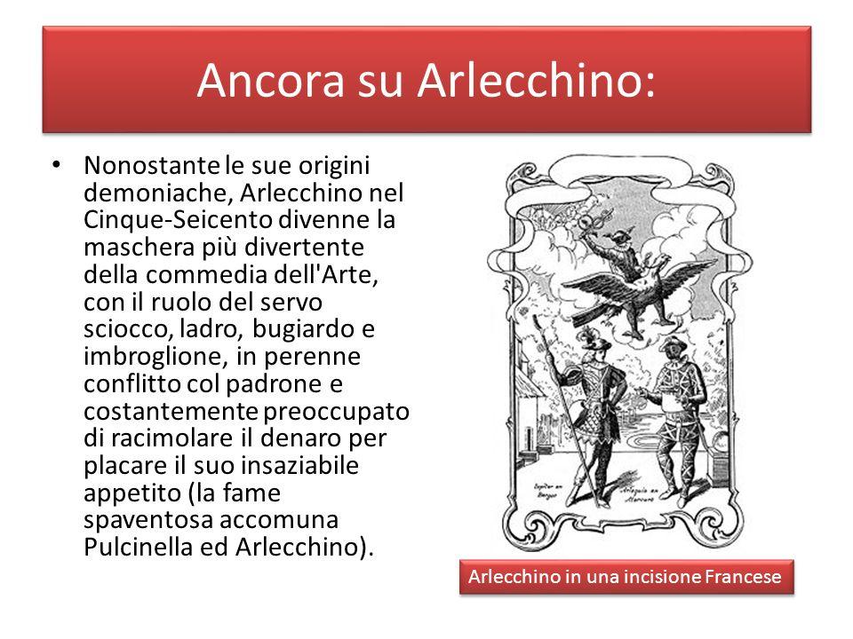 Ancora su Arlecchino: