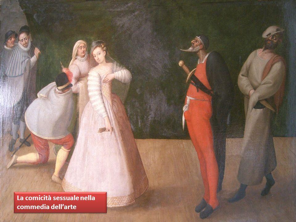 La comicità sessuale nella commedia dell'arte