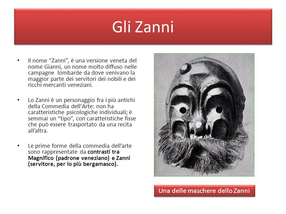 Una delle maschere dello Zanni