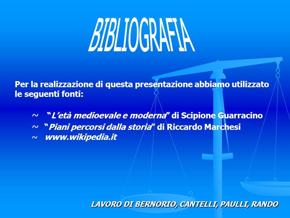 BIBLIOGRAFIA L'età medioevale e moderna di Scipione Guarracino